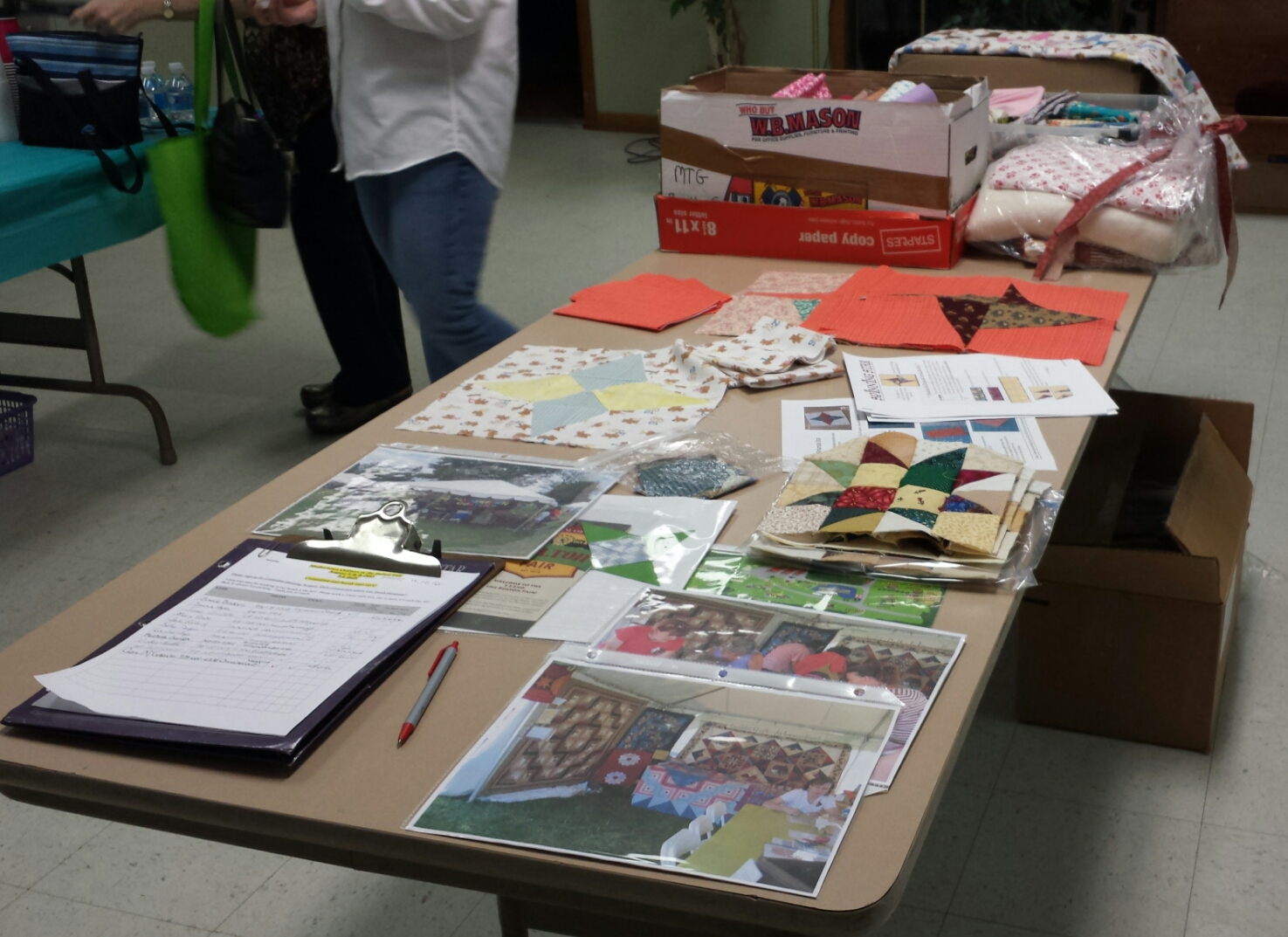 Outreach and BOM Table