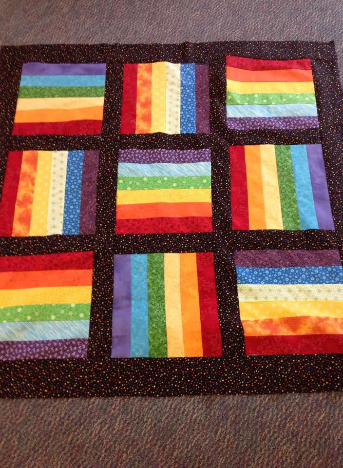 Jane's Fabric Swap Quilt Top