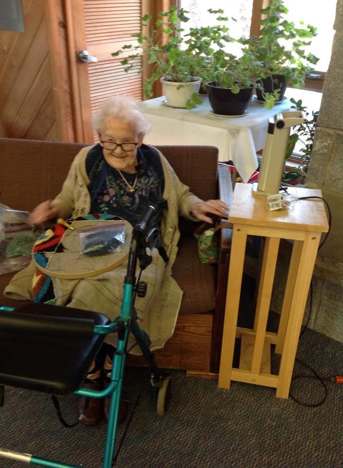 Janice's Mom at 101