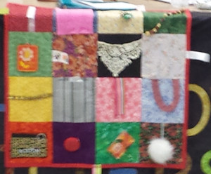 Often Adorned With Buttons Zippers Or Other Objects To Help Busy The Nervous Hands Of An Alzheimers Dementia Patient Fidget Quilts Are Typically