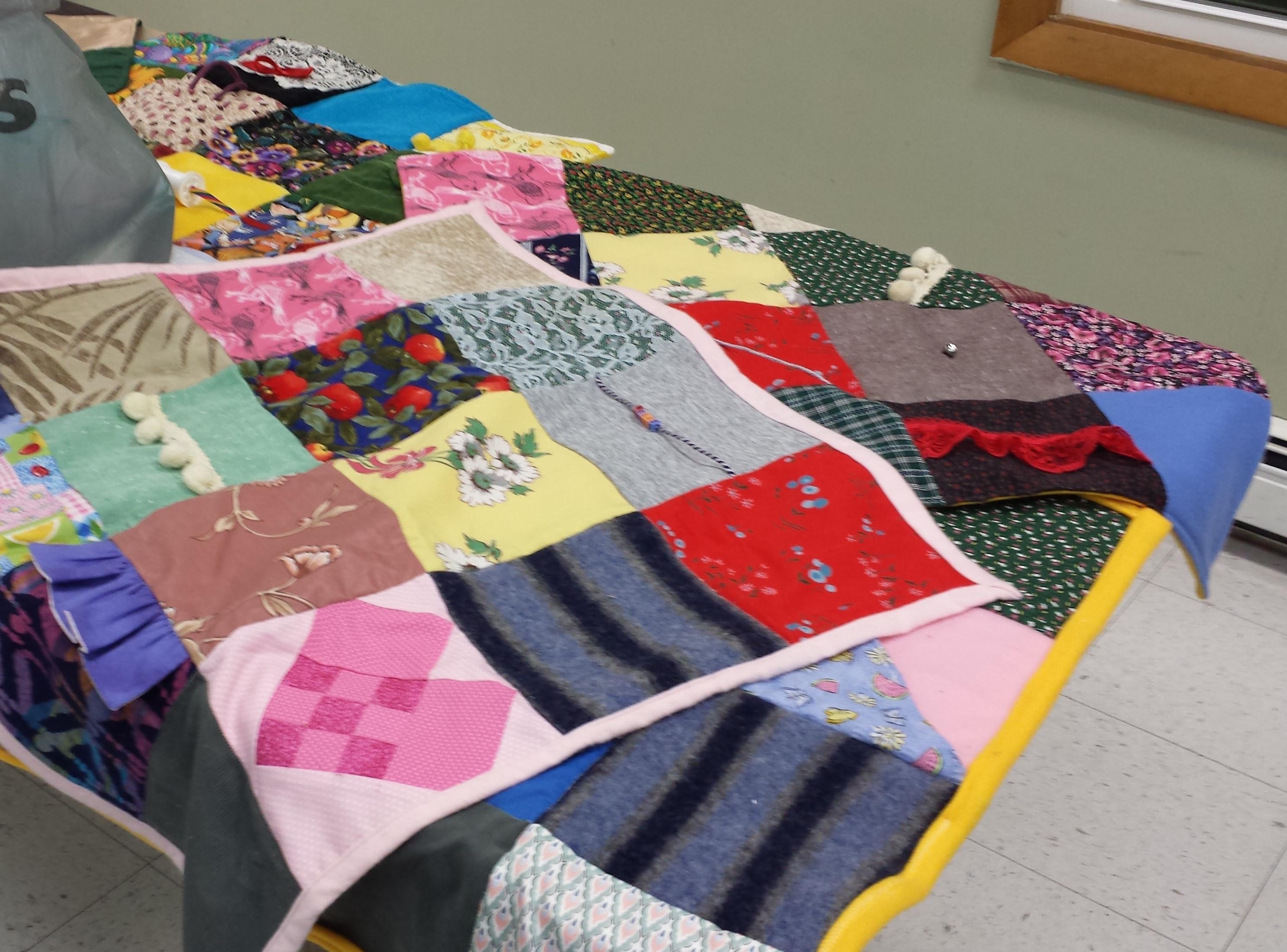 Fidget Blanket Dementia