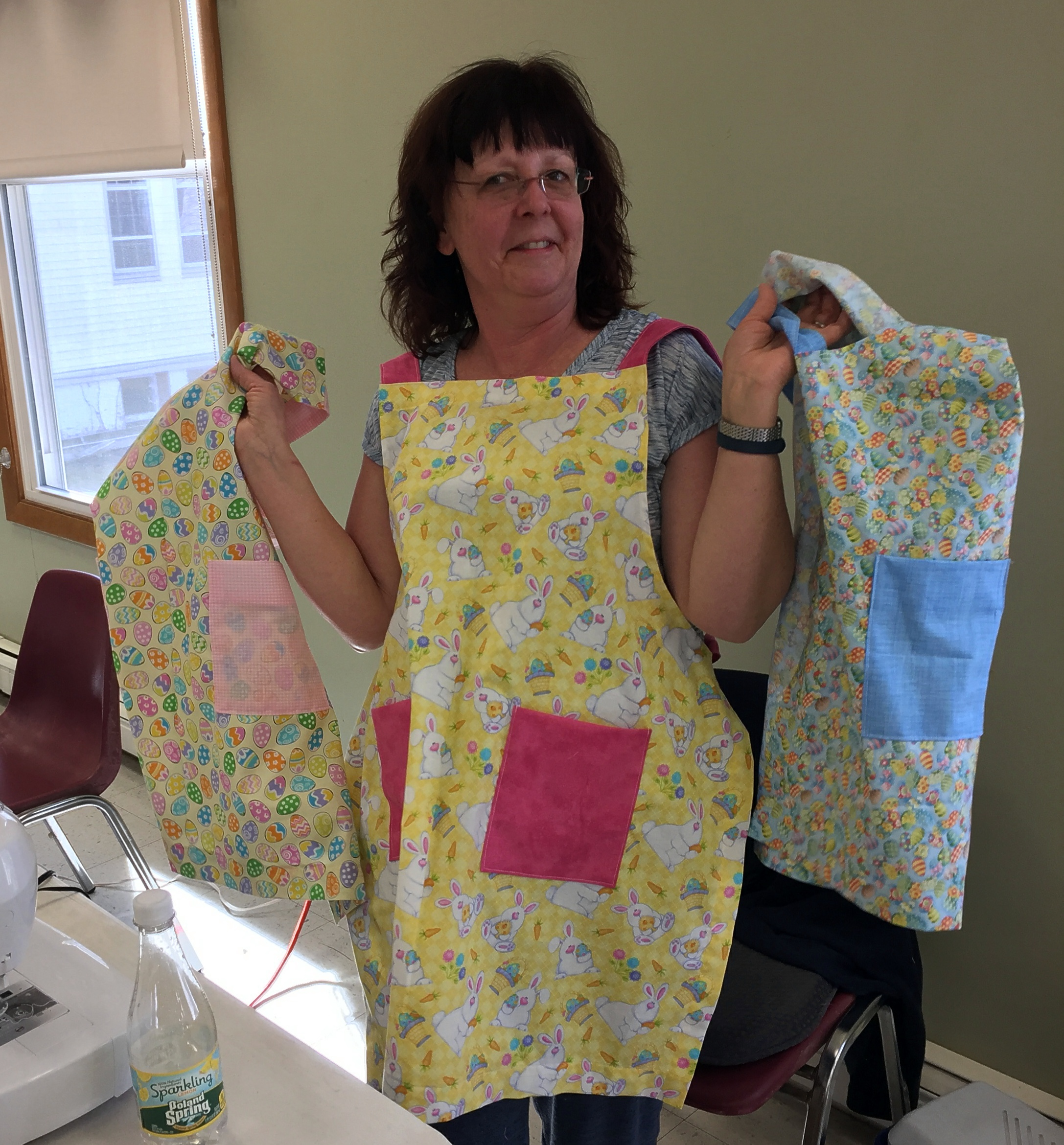 Christa - Easter Aprons