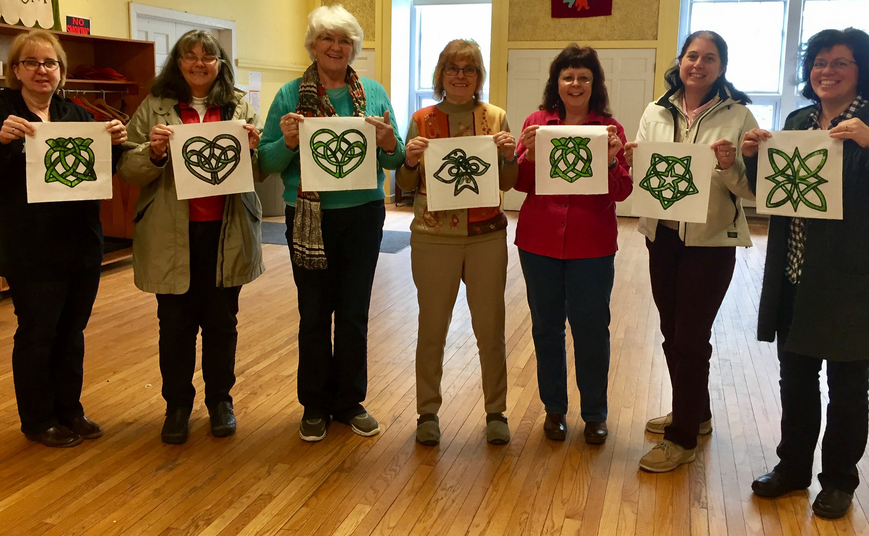 May 2017 Celtic Knot Workshop
