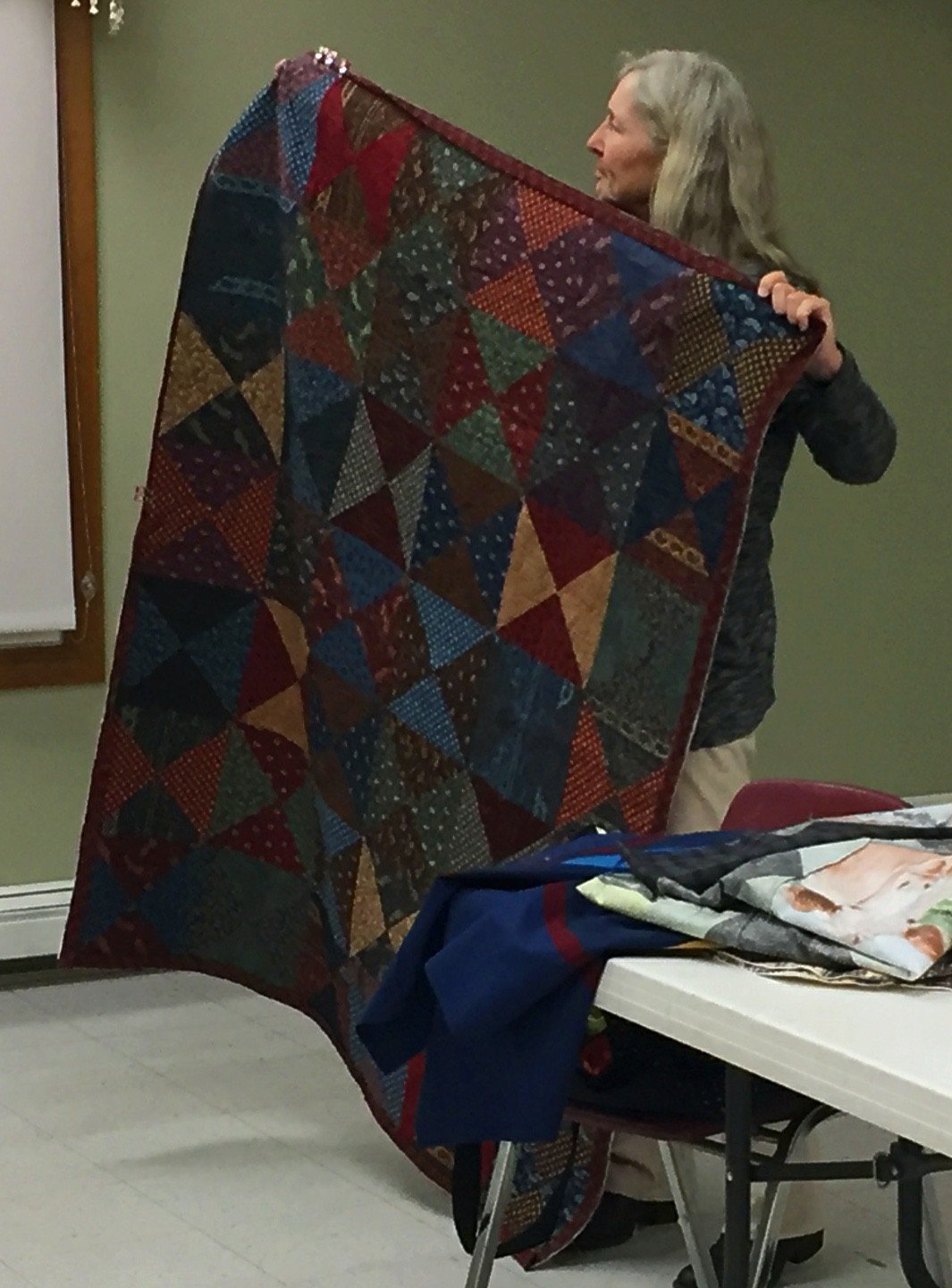 Kathy's Couch Quilt