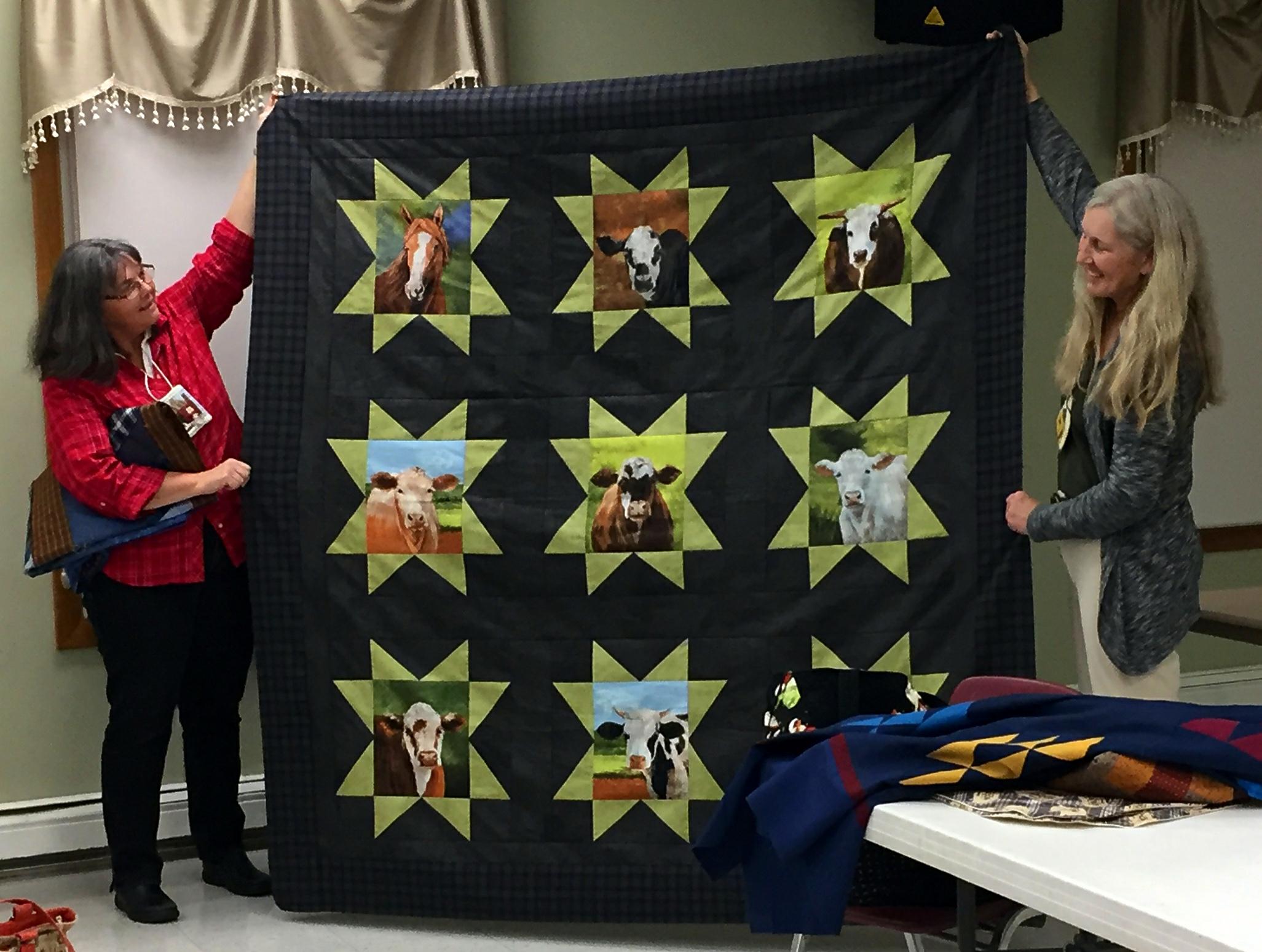 Kathy's Herd Plus One Quilt