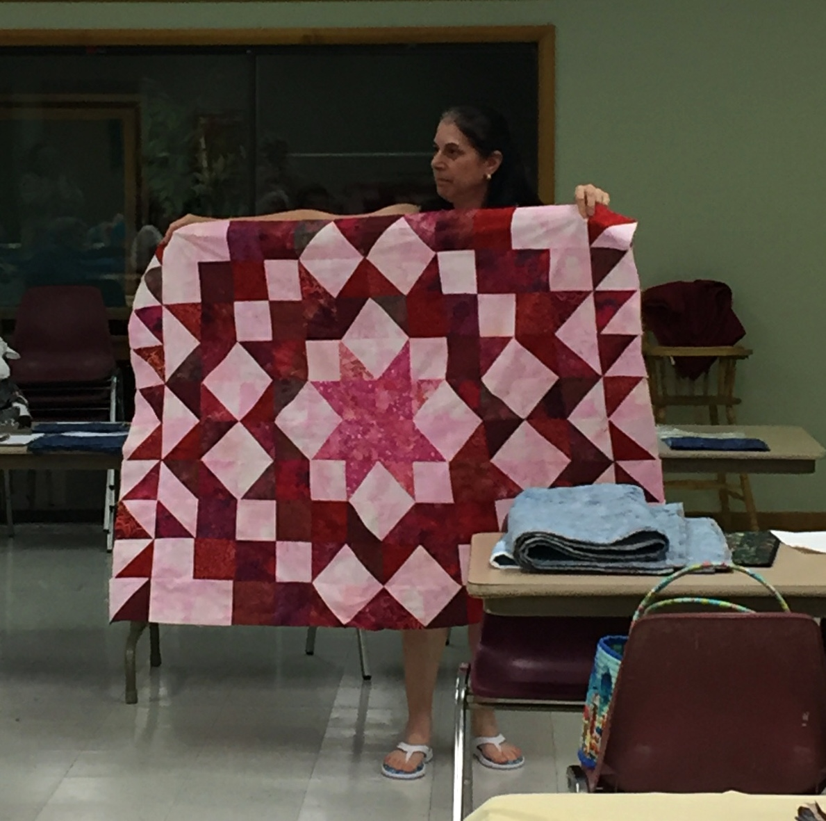 Barbara's Fabric Swap Quilt