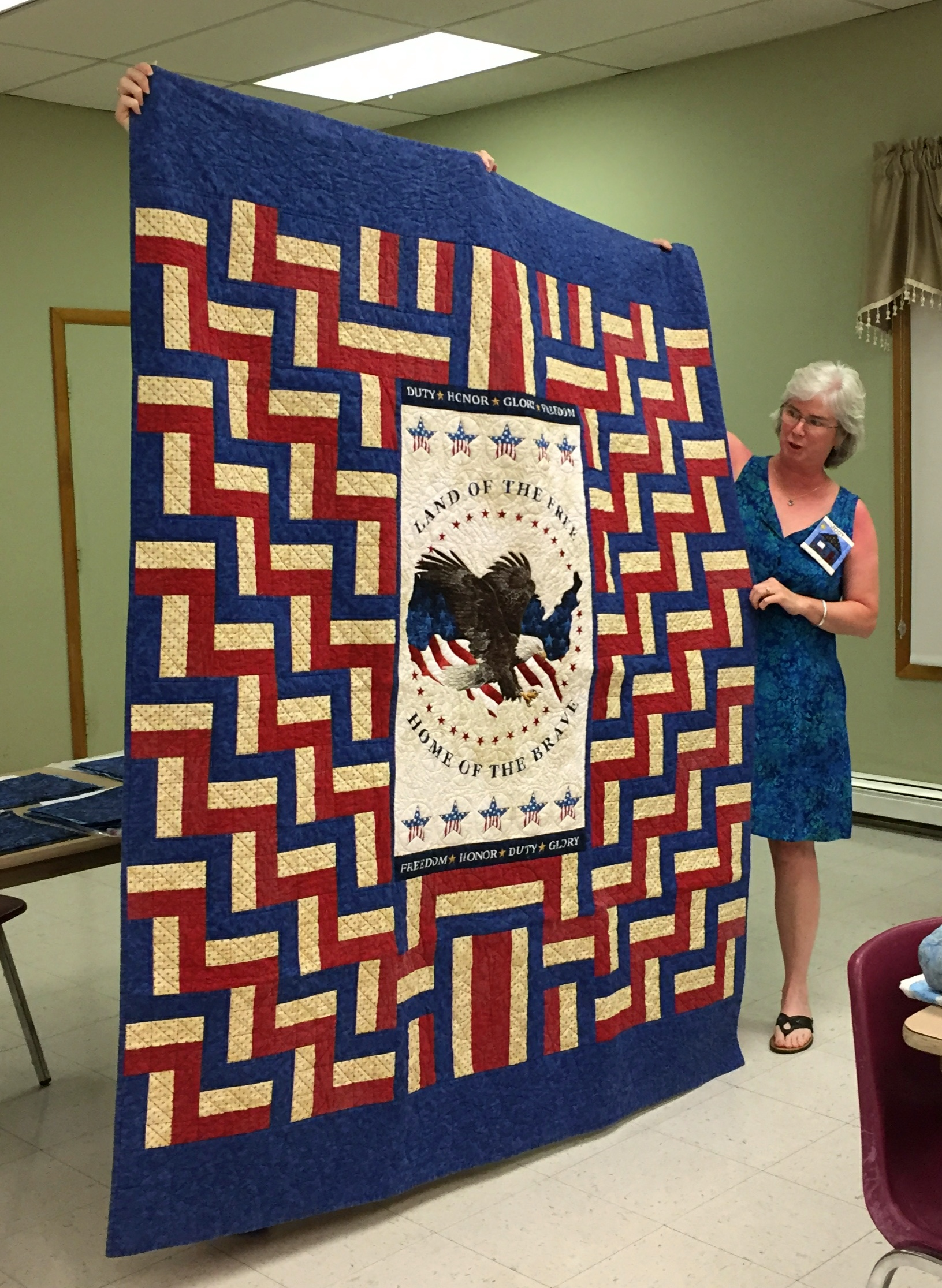Jody's Quilt of Valor