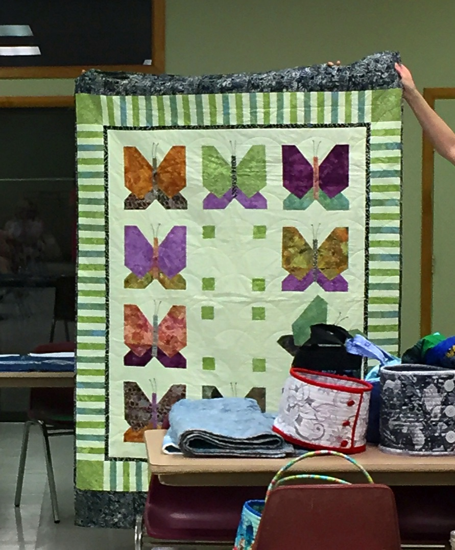 Mary's Butterfly Quilt
