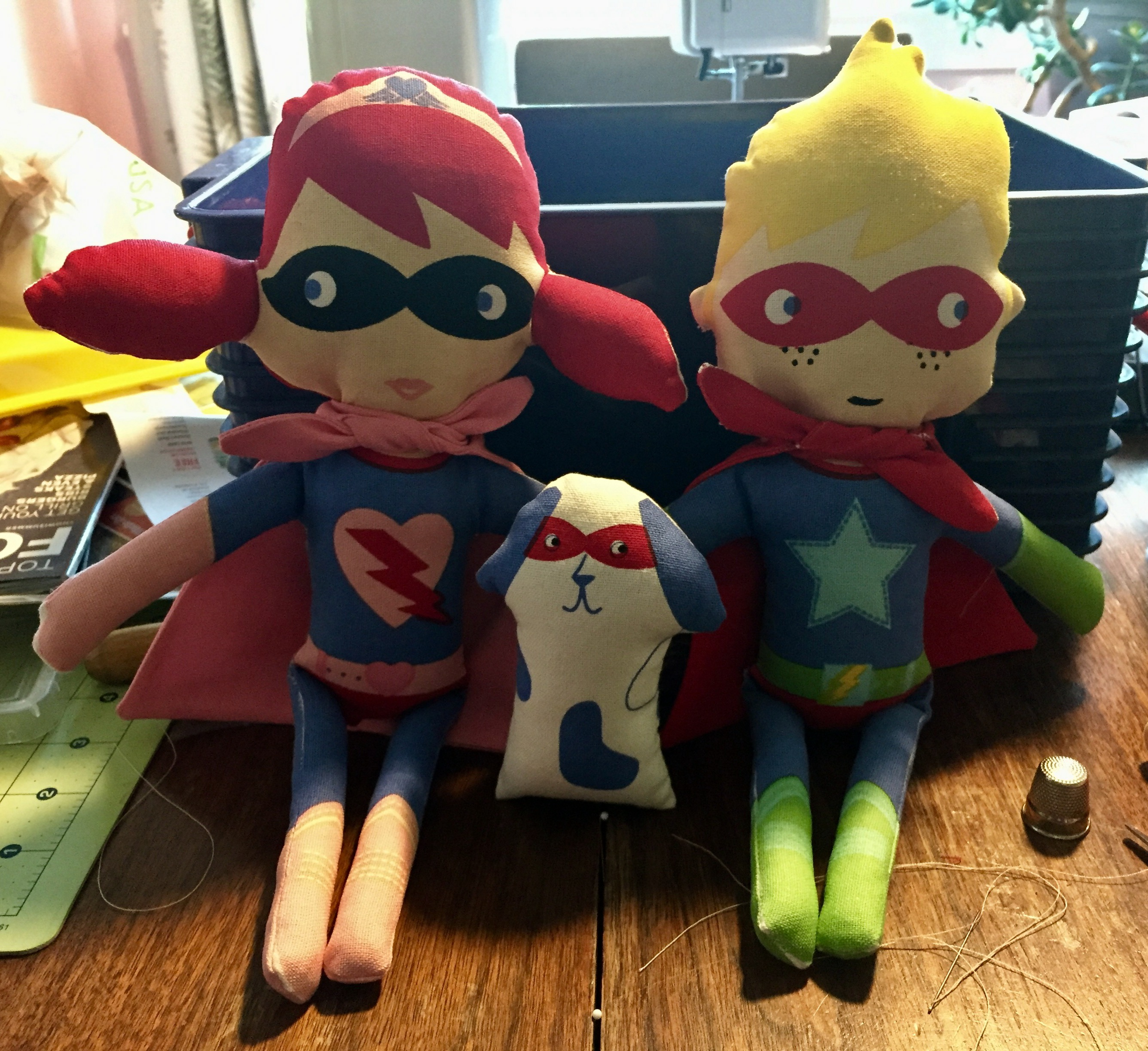 Susan's Little Superhero Dolls