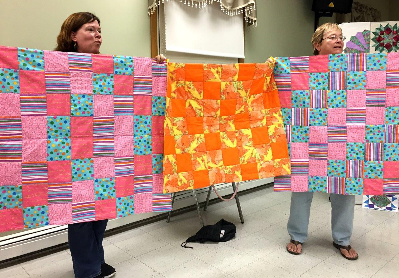 Laurel's Pop of Color Quilts