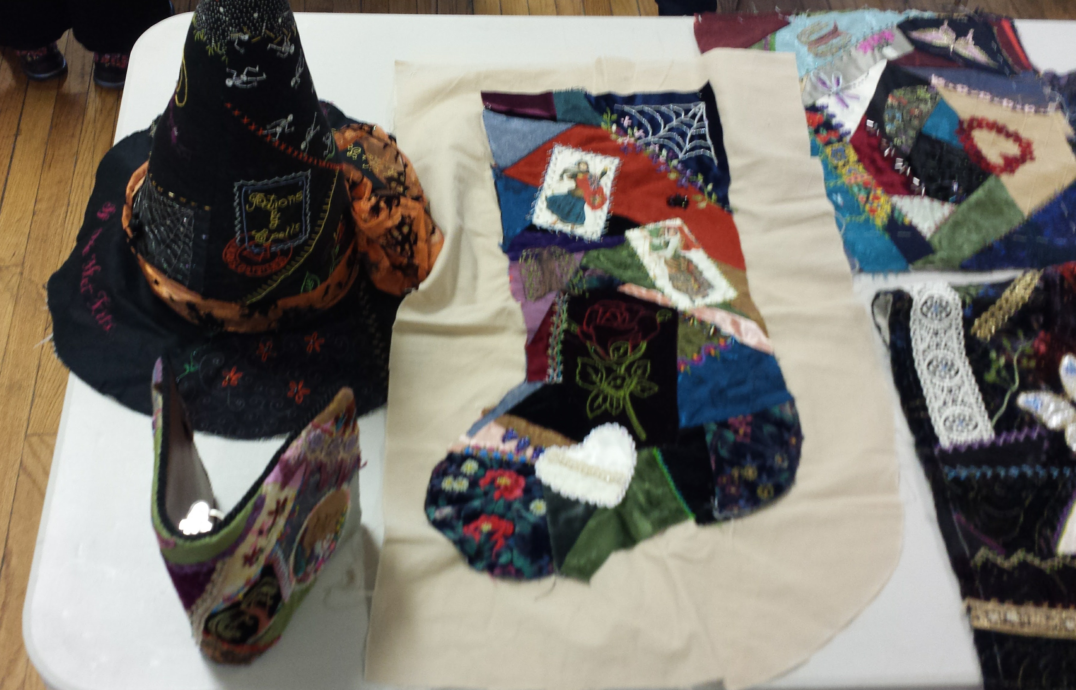 Witch's Hat, Christmas Stocking