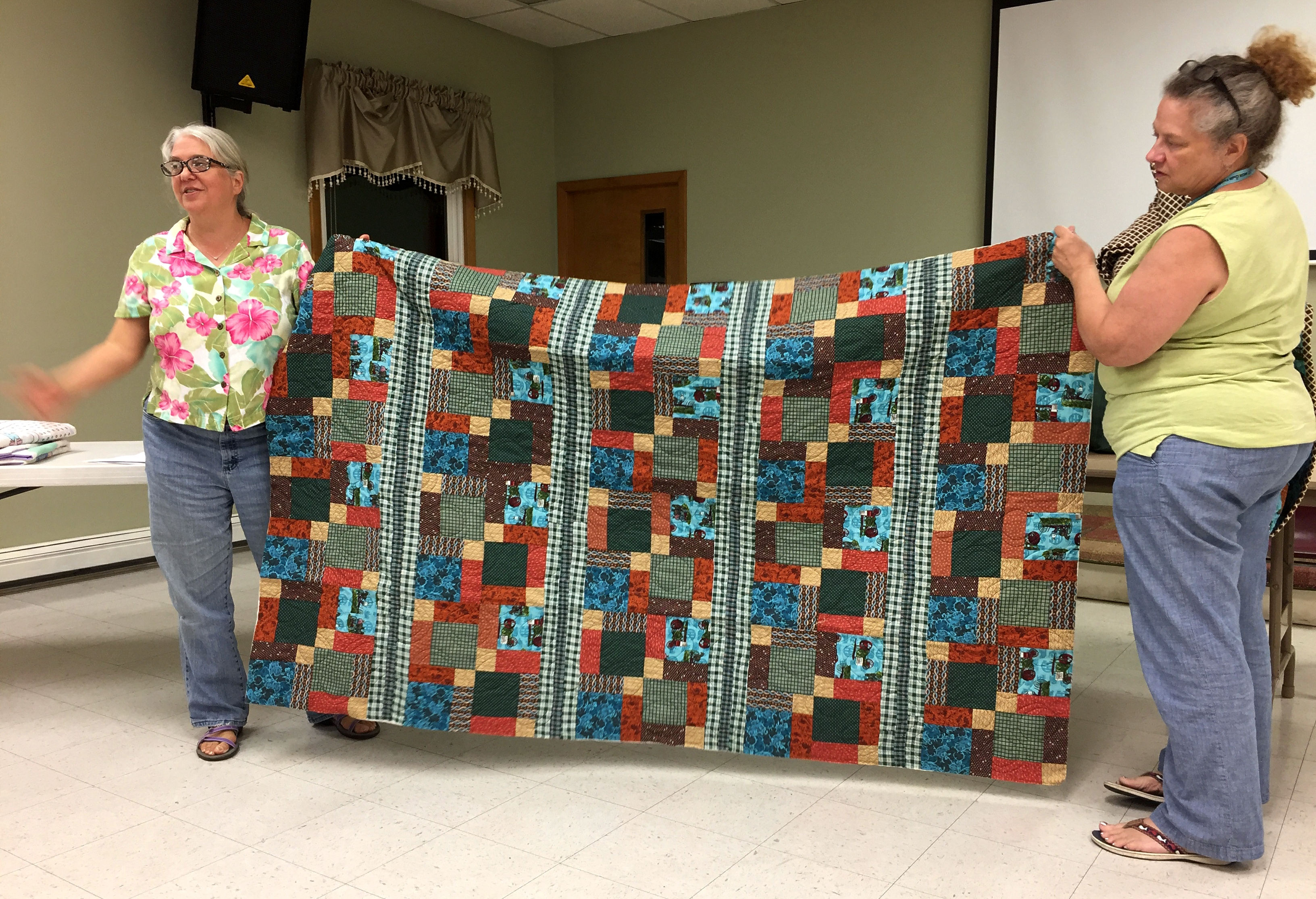 Debby's Vets and Veggies Quilt