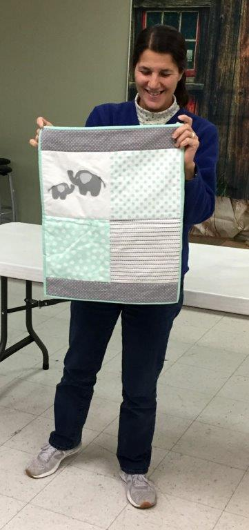 Andie's Doll Quilt