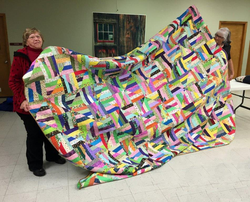 Joann's Quilt of Many Colors