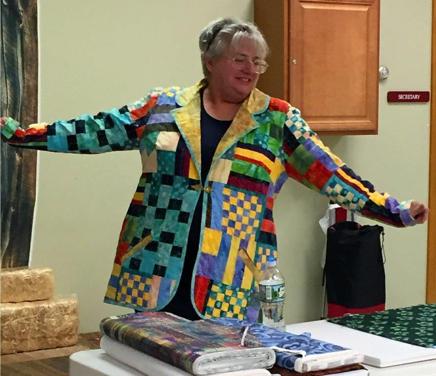 Nina Hunt Fabulous Fabric Presentation