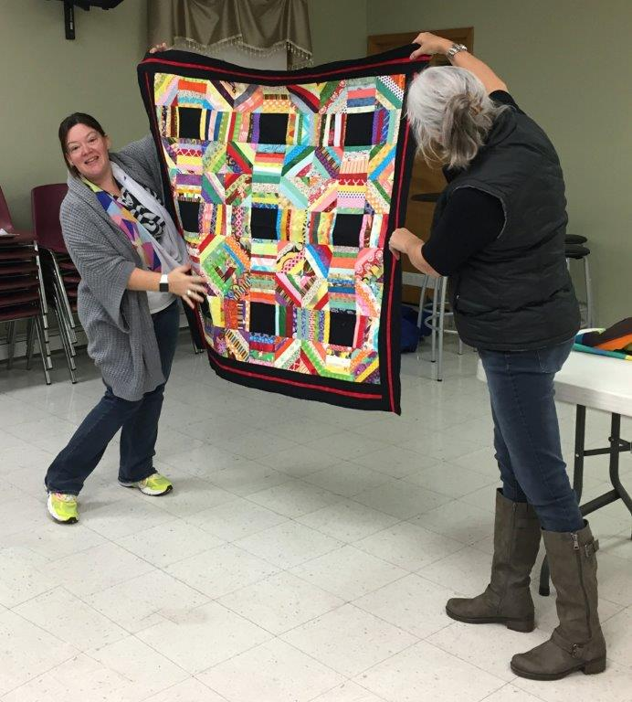 Veronica's String Quilt